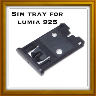 New Sim Card Slot Tray Holder - Replacement Part For Nokia Lumia 620 - Black