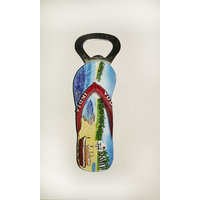 Goa Hand Made Souvenir Magnet Bottle Opener - Long Type