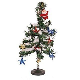 Shakti Christmas Tree with Decoratives  Santa