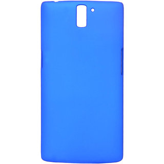Mobishopclick Hard Back Case Cover For OnePlus One 1+1 (Blue)