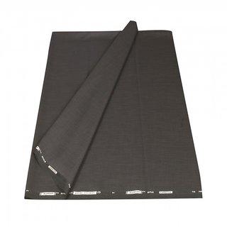 KUNDAN SELF DESIGNE BLACK COLOR 1 PCS UNSTITCHED 1.20 MTR. CUT TROUSER FABRICS
