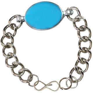 Men Style Silver Salman Khan Inspired Bracelet