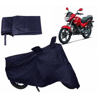 Autonation Bike Body Cover For HERO GLAMOUR - Blue
