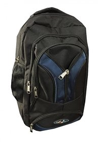 Apnav Black-Blue Backpack