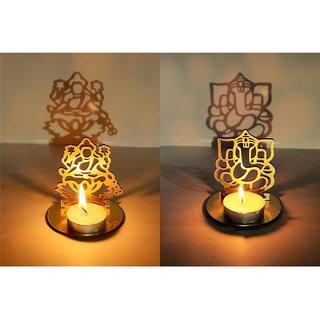 Shadow Diya- Laxmi Ganesh, Set of 2