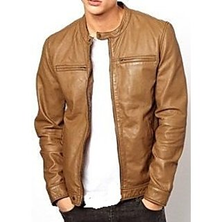 light brown co. leather jacket for men: Buy light brown co ...