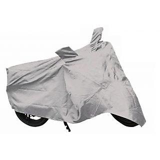 Autonation silver bike cover for Mahindra Pantero