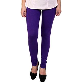S Redish Purple Cotton Leggings ( With Mayani) (Purple C)
