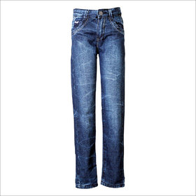 Tales & Stories Authentic Wash Blue Skinny Jeans  (2-8)