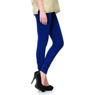 S Redish Royal Blue Cotton Leggings ( With Mayani) (Royal Blue C)