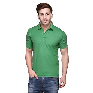 Friskers Men Cotton Polo T-shirt