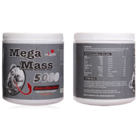MAPPLE MEGA MASS 5000 Muscle & Mass Gainer Chocolate Flavour 600gm