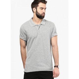 Friskers Men Cotton Polo T-shirt