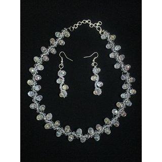 Handmade  Crystal Jewellery Necklace