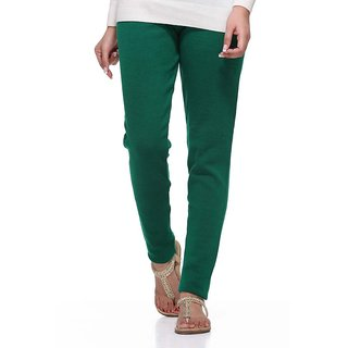S Redish Green Wollen Leggings ( With Mayani) (Green W)