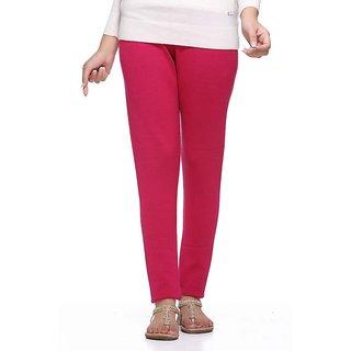 S Redish Pink Wollen Leggings ( With Mayani) (Pink W)