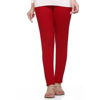S Redish Red Wollen Leggings ( With Mayani) (Red W)