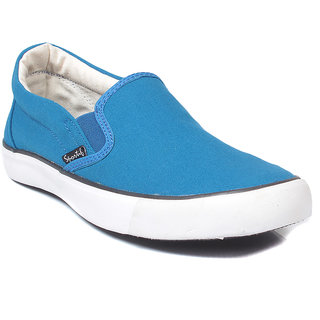 Rexona Mens Canvas Classic Casual Shoes in Blue