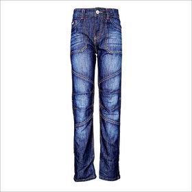 Tales & Stories Blue Cut-O-Sew Jeans  (2-8)