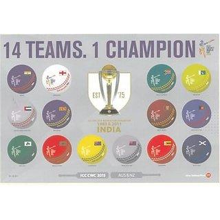 ICC Cricket World Cup 2015 Souvenir Sheets