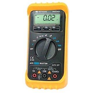 Motwane DM3540A 3200 Count Digital Multimeter With Holster