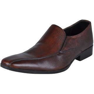 Franco Leone 9419 Brown Men's Formal Shoes