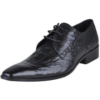 Franco Leone Men's Black Shoes - Design 5