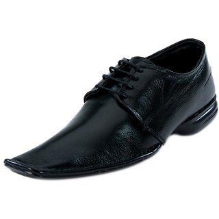 Franco Leone 9471 Black Men's Formal Shoes