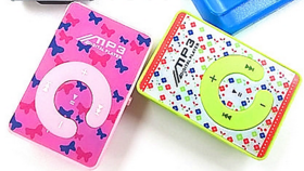 Mini MP3 Player + Earphones Free