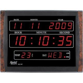 Ajanta LED Digital Wall Clock - OLC-107