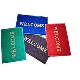 Akash Ganga Special Combo of 4 Welcome Mats