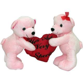 dealbindaas Kitty Mitty Bear (Pink)