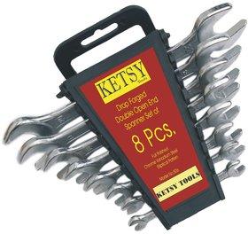 506 DOE Spanner 8PCs Set (6x7 - 20x22mm)
