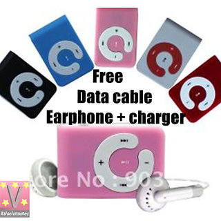 Mp3 Player (Free Data Cable  Earphone Charger)