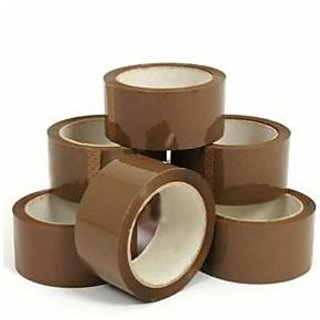 Brown Tape - 72MMX170MTR(pack of 2 pcs)