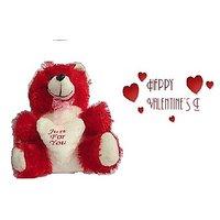 Valentine Day Gift : Red Teddy Bear 10 Inc