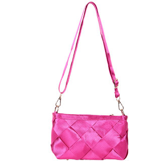 TrendBerry Fascinating Magenta Sling Bags