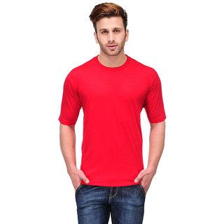 Friskers Men Cotton Round Neck T-shirt