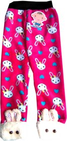 Muusa Love Inter Price Ethnic Wear Cotton Pink Baby Legging