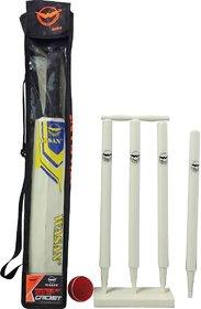 WASAN Cricket kit -size 3-(5-12 years)