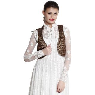 Indi Dori Black/Gold Waistcoat