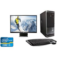 CORE I3 PROCESSER 4GEN 2 GB RAM 500 GB HDD WITH 20 AOC LED 3 YR WARRANTY