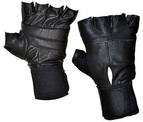 Gym Gloves - Black (High Quality)