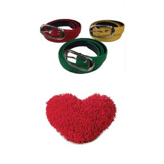 Love Special - Buy 1 Stylish Ladies Belts & Get 1 Heart Pillow Free