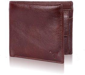 Hidekraft Genuine Leather Men'S Wallet Brown 4