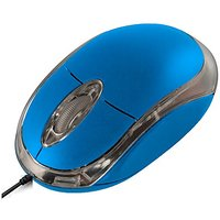 Tech Gear USB Optical Mouse Blue