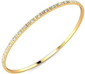 Candere Gold Plated Gold Brass & Copper Bangles For Women