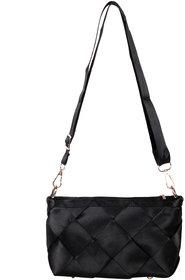 TrendBerry Groovy Black Sling Bags