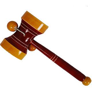 MNC Wooden Handicraft Lacquer Baby Rattle(Damru)