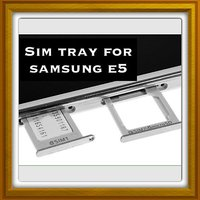New Sim Card Slot Tray Holder - Replacement Part For Samsung Galaxy E5